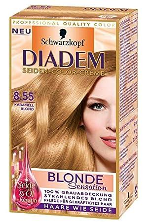 Diadem Blonde Sensation Seiden Color Creme 8 55 Karamell Blond 1 St