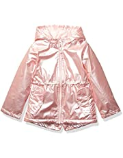 Osh Kosh Girls' Little Midweight Fleece-Lined Anorak