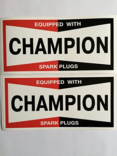 champion sticker - 1