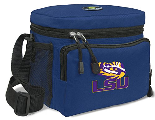 Broad Bay LSU Lunch Bag NCAA LSU Tigers Lunchboxes