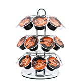 Coffee Pod Storage Carousel, Coffee Pod Holder and Organizer 27 Cup Packs