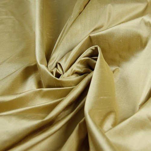 Silk Shantung-Gold