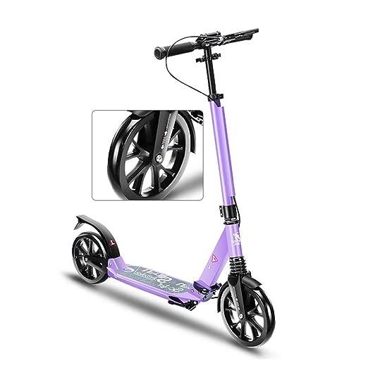 Patinete Adultos, Big Wheel Kick Scooter, Scooter Juvenil ...