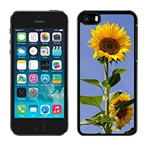 Fashionable Designed Cover Case For iPhone 5C With Sunflowers Flower Mobile Wallpaper 1 Phone Case