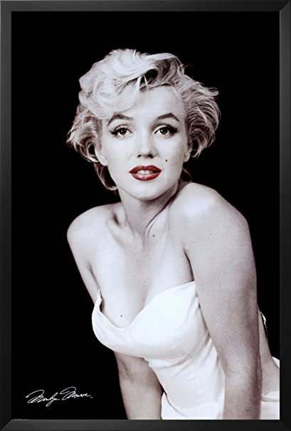 Amazon.com: Professionally Framed Marilyn Monroe Movie (Red Lips ...