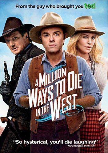 Million Ways to Die in the West [DVD] [Region 1] [US Import] [NTSC] (Best Selling Sodas In The World)
