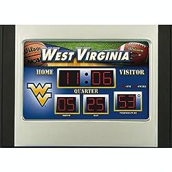 West Virginia Mountaineer Scoreboard Desk Clock