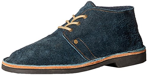 Brother Vellies Unisex Erongo Suede Vellie Chukka Boot, Blue, 9 Men's 11 Women's M US by Brother Vellies