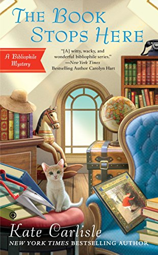 The Book Stops Here (Bibliophile Mystery)