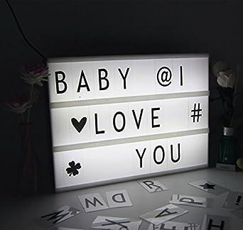 icase4u Lightbox A4 Led Caja de Luz Cinematográfica Luz Cálida ...