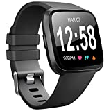 for Fitbit Versa Band, Vancle Classic Accessory Bands Replacement Wristband Straps for Fitbit Versa Smart Watch Small Large Size