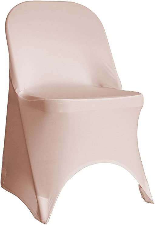 50 Pack Spandex Folding Chair Covers Party Chair Covers