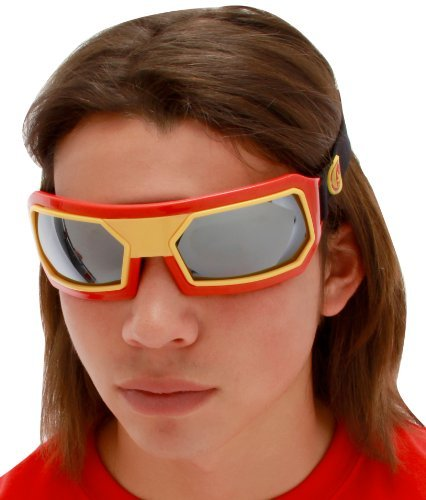 elope Marvel Men's Iron Man Goggles, Red/Yellow, One - Eyewear Fiction