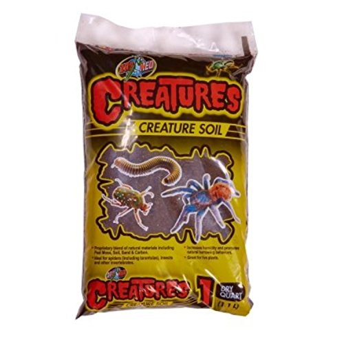 ZOOMED CREATURES CREATURE SOIL 2 Lb by Zoo Med