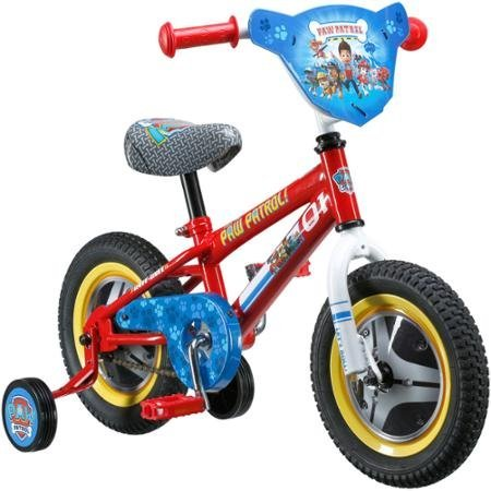 12 Paw Patrol Kids' Bike | Coordinated Seat | Graphics and Wheel Covers by Nickelodeon B01FULJQKS