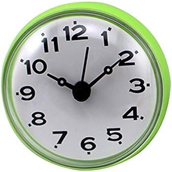 Amazon.com: XSHION Shower Clock, Mini Wall Clock Suction