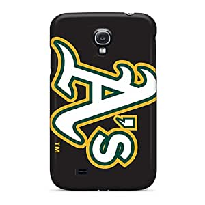 New Snap-on HighLifeNest Skin Case Cover Compatible With Galaxy S4- Oakland Athletics