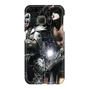 Samsung Galaxy S6 FVV1027umGL Support Personal Customs Vivid Kiss Band Pattern High Quality Hard Phone Cases -ChristopherWalsh
