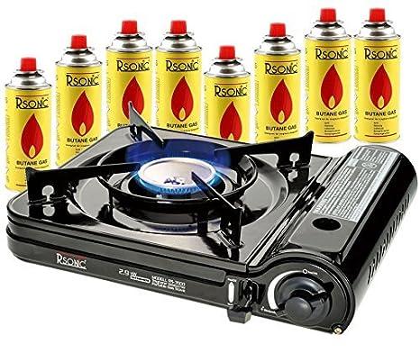 Cocina Camping Cocina Gas Portable Turbo Cocina de gas 2,9 ...