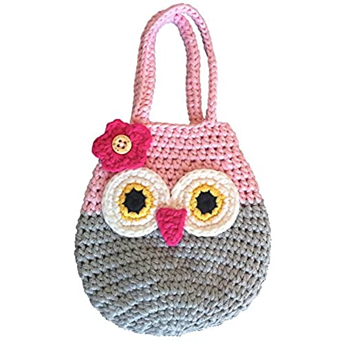 Handbag For Little Girls 100 Handmade Natural Soft Cotton Highest Quality Crochet Great 3 4 5 Year Old Girl Gifts Perfect Birthday Present
