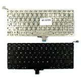 "Apple MacBook Pro A1278 13"" Unibody Backlit Version (Without Backlit Board) Black UK Layout Replacement Laptop Keyboard"