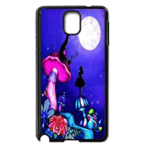 FOR Samsung Galaxy NOTE4 Case Cover -(DXJ PHONE CASE)-Cheshire Cat - Alice in Wonderland-PATTERN 9