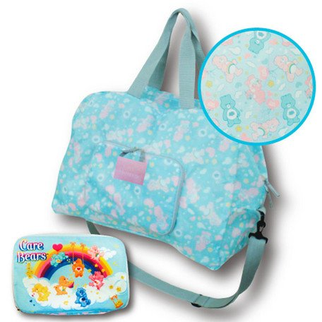 Care Bears Folding Boston bag (blue) 111475 ()