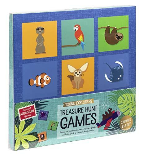 Professor Puzzle Treasure Hunt Bingo Garden - Explorer Bingo