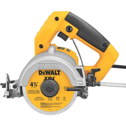 Wet Cutting Circular Saw - DEWALT DWC860W 4-3/8-Inch Wet/Dry Masonry Saw