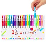 Best Coloring Pens For Adults - Gel Pens Adult Coloring Book Pen - 24 Review