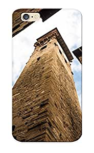 lintao diy Buildings Torre Delle Ore Lucca Italy Case Compatible With Iphone 6/ Hot Protection Case