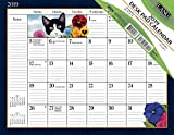 Lang American Cat 2019 Deskpad Office Desk Pad Calendar (19991010031)