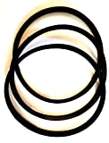 **NEW 3 Belt Set** These are replacement rubber belts ... not OEM for Delta 49-124 HD SHAPER DRIVE / Unisaw DRIVE **NEW** BELT SET 3450 RPM MOTOR *SET of 3** **NEW REPLACEMENT** BELTS Also fits : Delta Unisaw 34-806 Type 1