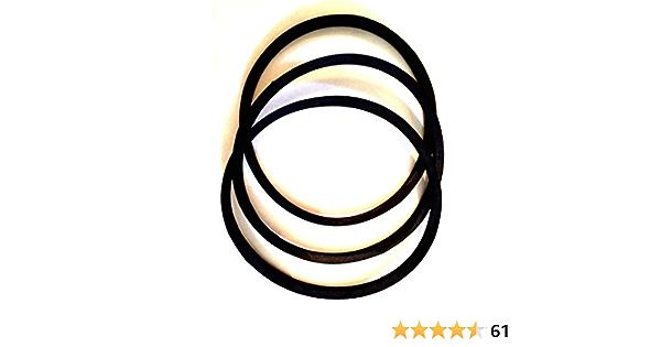 Rubber 49 Length 49 Length A//4L Belt Cross Section D/&D PowerDrive LB490A Lehigh BLU Cold Replacement Belt