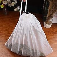 QZ Nut Milk Bag Reusable Almond Milk Bags Commercial Food Grade Fine Nylon Mesh Bag