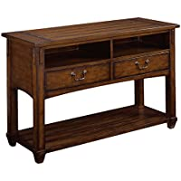 Hammary Console Table with Shelf