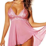 2 Pcs Set Super Sexy Women's Lingerie Lace Dress Underwear Temptation Plus Size