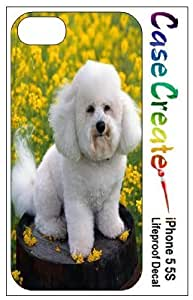 Bichon Frise Decorative Sticker Decal for your iPhone 5 5S Lifeproof Case