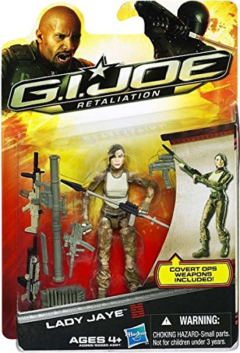 G.I. Joe Retaliation Lady Jaye (Gi Joe Accessories)