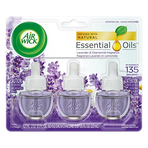 Genial Air Wick Scented Oil 3 Refills, Lavender U0026 Chamomile, (3X0.67oz), Air  Freshener