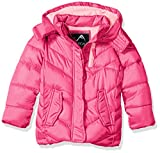 Vertical '9 Little Girls' Bubble Jacket (More Styles Available), V304-Fuchsia, 5/6