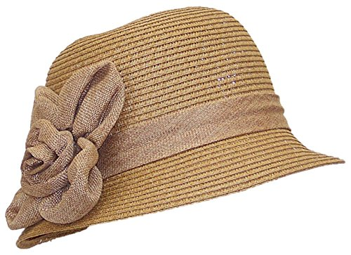 Tropi (Brown Cloche Hat)