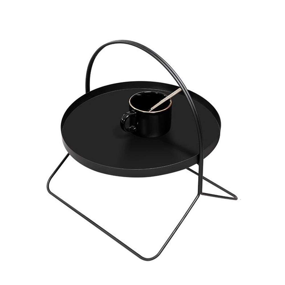 Jcnfa-Shelves Tray Rack, Metal Bookcase, Living Room Magazine Rack, Sleek Modern Standing Design, Perfect Organizer , Displays (Color : Black, Size : 14.1714.1714.17in) by Jcnfa-Shelves