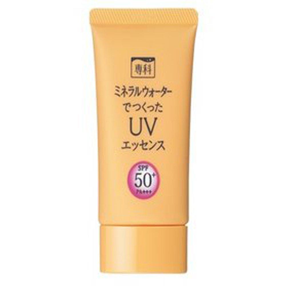 [ Shiseido : UNO ] Senka UV Care Sunscreen Suncream Sunblock (2 Types) (1. Senka Mineral Essence UV 50g (Orange))