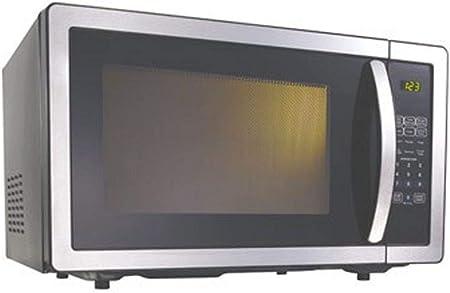 Opinión sobre Kenwood - Microondas (900 W, 25 L, con controles táctiles), color negro y acero inoxidable