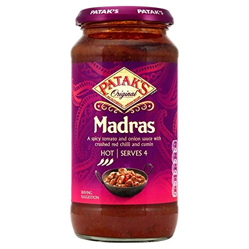 Patak's Madras Cooking Sauce (450g) - Pack of 6 -  Groceries, PACK6-GFC255272
