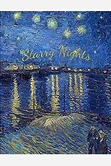 Starry Nights: Starry Night Over The Rhone - Vincent van Gogh (Notebook, Sketchbook, Journal) Paperback