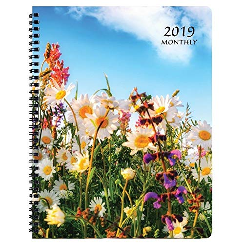 2019 Wildflower Mthly Planner, Monthly Planners