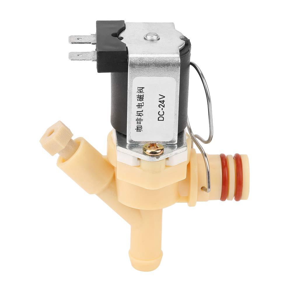 Válvula de solenoide eléctrica normalmente cerrada de CC de 24V ...