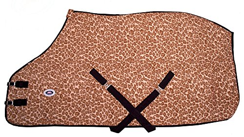 Derby Originals Horse Fleece Sheet/Blanket Liner, Leopard...